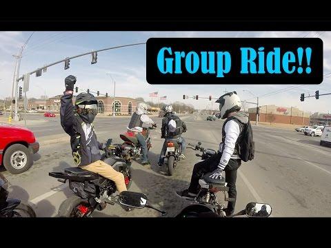 Group Ride!! | Honda Grom Goes Down