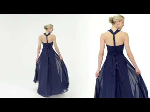 054b57f6ae13 The Convertible Dress: Alfred Angelo Style 7395L - YouTube