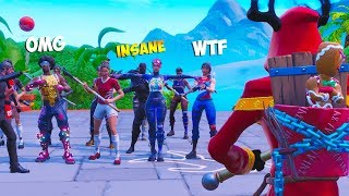 I Showed my SECRET TALENT for the FIRST TIME in Fortnite...