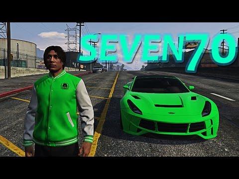 JOS JEDAN NOVI AUTO - SEVEN70 ! Grand Theft Auto V - Seven70