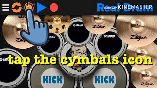 Tutorial Vid on How to Change skin on Real Drum App