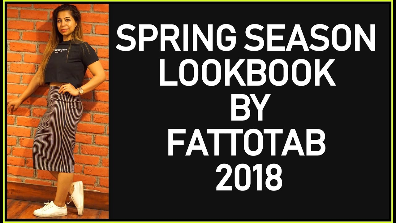 [VIDEO] - Spring Lookbook 2018 | Women's Fashion Zara & Adidas Lookbook & OutFits Ideas | Fat to Fab 3
