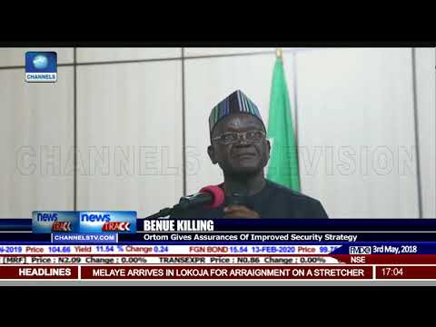 Ortom Gives Assurances Of Improved Security Strategy