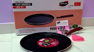 Best Non- Stick Tawa in 2020 - Review Nirlep Non Stick Flat Tawa Unboxing And Review