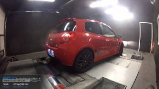 Reprogrammation Moteur Renault Clio 3 RS Swap 2.0T 225hp @ 280hp (Stage 2) par BR-Performance