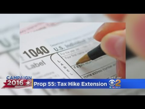 Prop. 55 Would Extend Tax Increase On Wealthy Californians