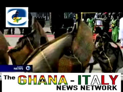 THE GHANA ITALY NEWS BROADCAST   JANUARY 2013 EDITION