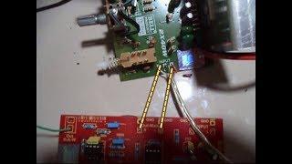 Cara memasang subwoofer pada speaker aktip yang sudah ada tone controlnya