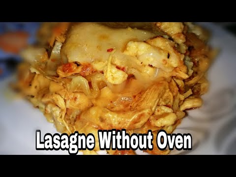 #lasagnewithoutoven #nims Lasagna without Oven | Lasagna in Pan | How to Make Lasagne Without Oven