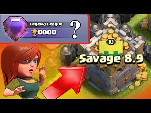 Clash Of Clans - WORLDS FIRST TOWN HALL 8 LEGEND LEAGUE PLAYER! - NEW WORLD RECORD IN CoC!