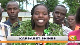 Nandi residents celebrates good KCSE results