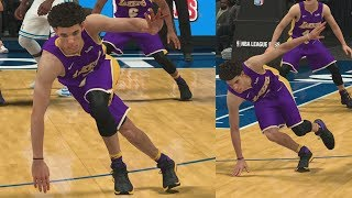 NBA 2K18 My Career - Lonzo Ball Leaning Again! PS4 Pro 4K Gameplay
