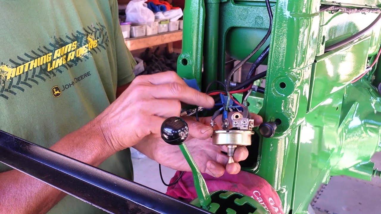 medium resolution of john deere 420 wiring by farmer john