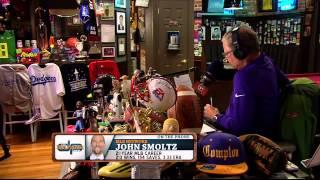 John Smoltz on Tнe Dan Patrick Show (Full Interview) 07/17/2015