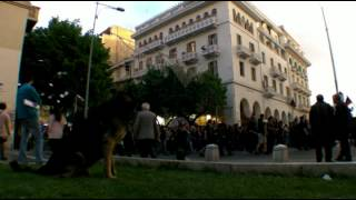 No Eldorado - Protest in Thessaloniki against a gold mining project in Halkidiki.