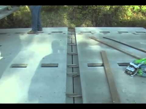 Full Depth UHPC Waffle Bridge Deck Panels