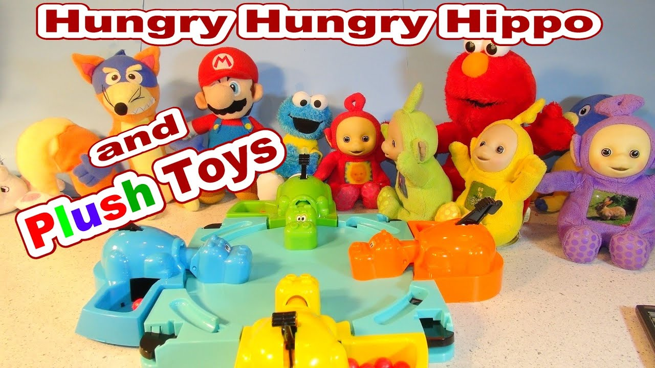 Hungry Hungry Hippo With Plush Toys by Top Channel for