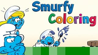 Play with The Smurfs: Smurfy Coloring • Les Schtroumpfs