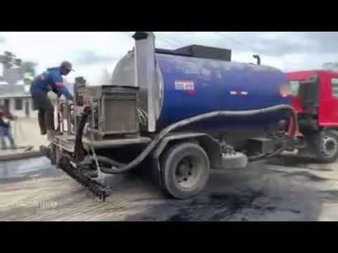 Download Se realiza la imprimacin asfltica Alcalda de Naranjito 1