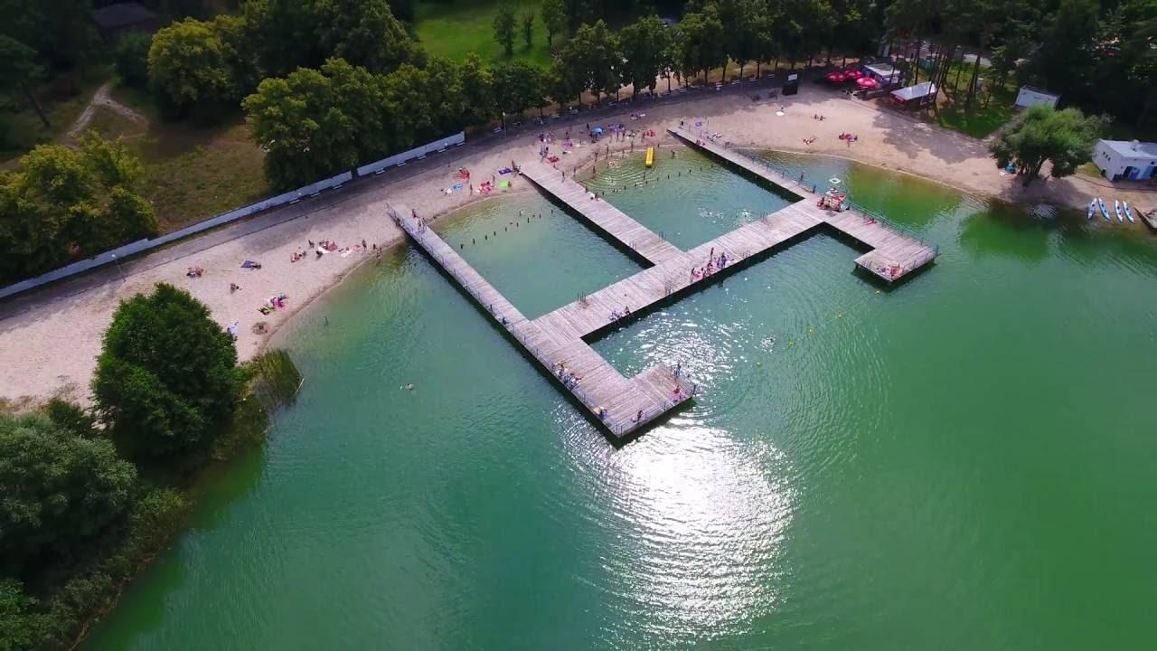 Jezioro Gibiel Lochowice 2016 Lubuskie Dji Phantom 4 4k Youtube
