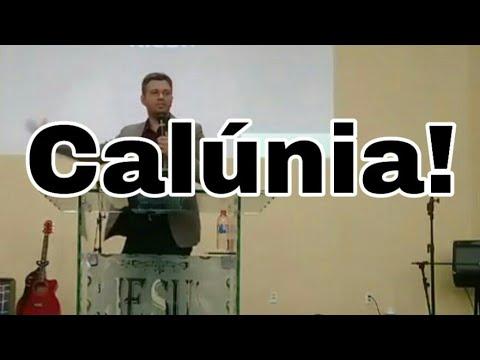 Como lidar com as calúnias | Salmo 7:1-9 | Pr Tiago Portela