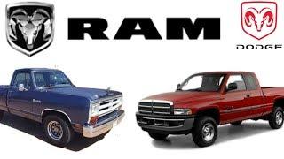 La historia de la Dodge Ram (1982-2002)