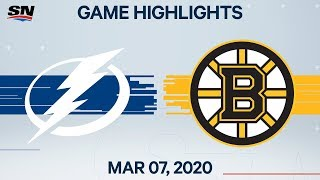 NHL Highlights   Lightning vs Bruins – Mar. 7, 2020