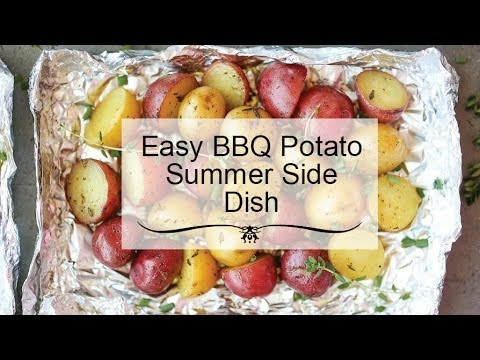 PINTEREST TEST 2: Quick And Easy BBQ Grilled Potatoes Recipe