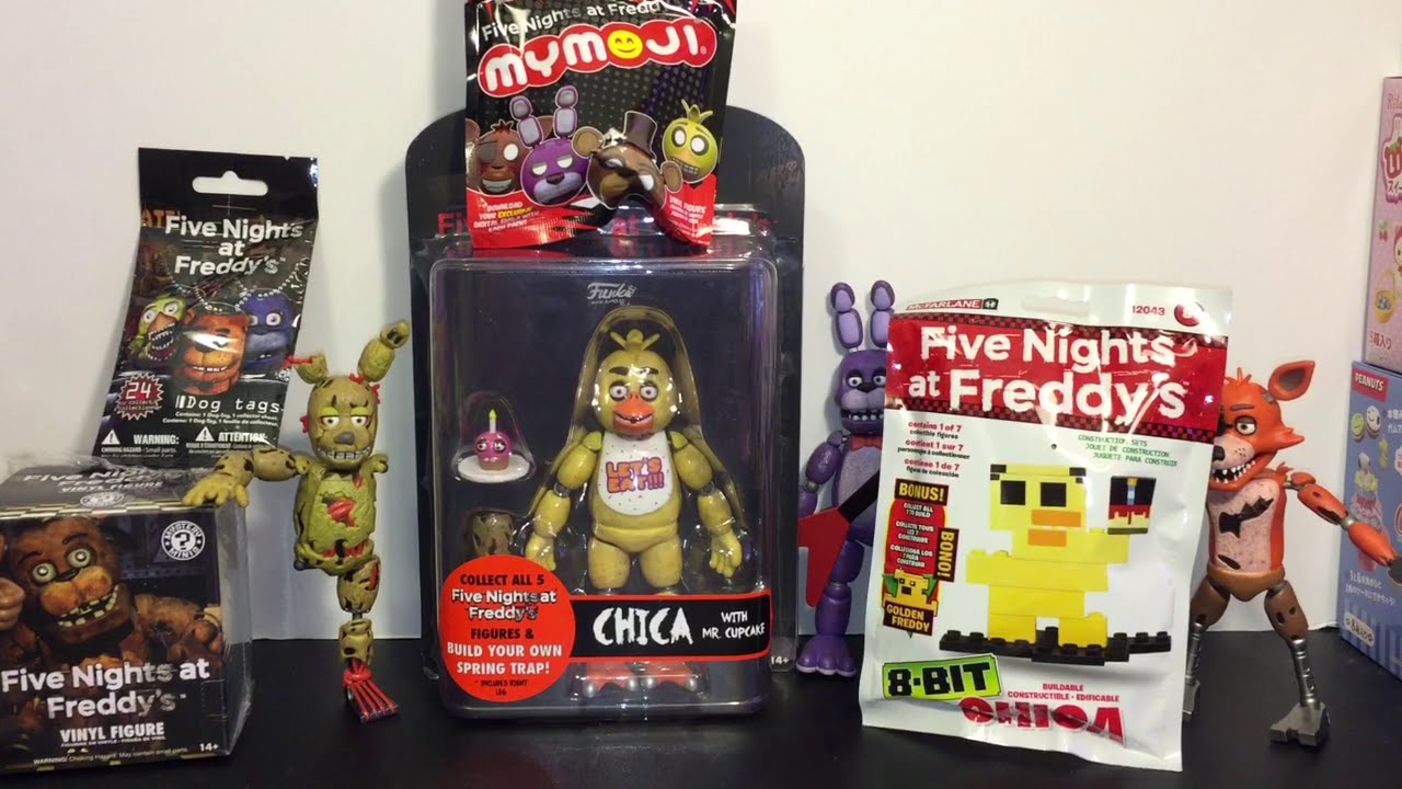Five Nights At Freddy S Chica Funko Action Figure Mystery