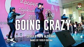 Treasure 13 - Going Crazy Cover by Vi & Alphiandi