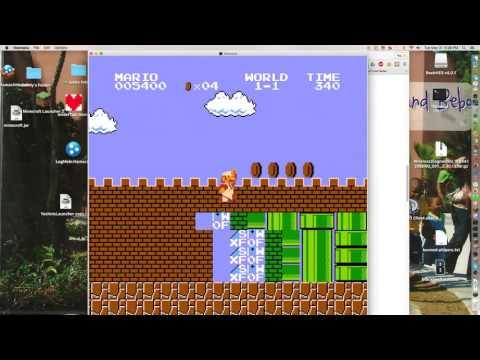 Super Mario Bros. Game Genie. (WARNING: HORRIBLE MUSIC!!!)