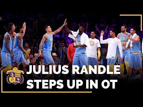 Julius Randle Steps Up Big In Lakers Overtime Win Vs. Wizards