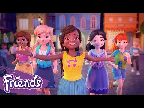 Friends: Girls On A Mission | LEGO® Music Video: Bright Lights