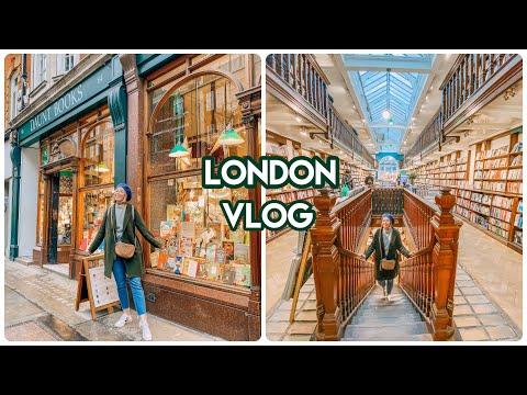 London Travel Vlog: London Book Stores + Booktube Friends