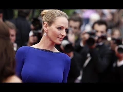 Uma Thurman agressée s exuellement par Harvey Weinstein, elle dit tout