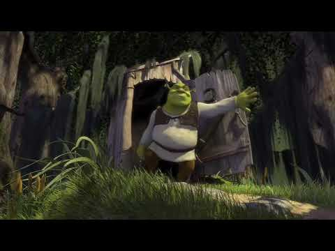 The Shrek intro but All Star is replaced with OutKast's Hey Ya