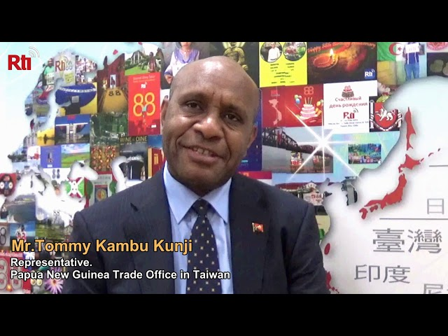 Interview with Tommy Kambu Kunji【央廣英語】
