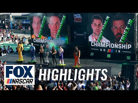 2019 Monster Energy NASCAR Cup Series Championship | NASCAR On FOX HIGHLIGHTS