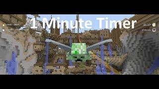 Minecraft: Xbox - 1 Minute Timer In Time Attack Mode - Glide Mini-Game