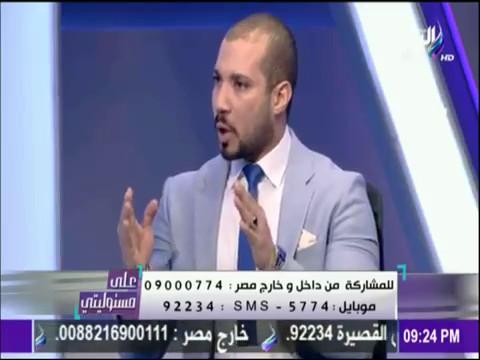على مسئوليتي - خناقة بين عبد الله رشدي ونجيب جبرائيل على الهواء وتبادل الإتهامات بالتكفير