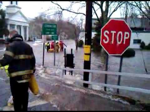 Old Mystic CT Flood 2010