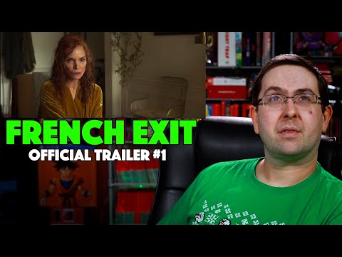 REACTION! French Exit Trailer #1 – Lucas Hedges Movie 2021