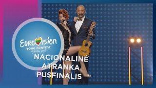Jurgis DID&Erica Jennings - ,,Sing! - Nacionaline Eurovizijos atranka Pusfinalis