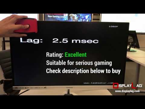 Input Lag Tests: ViewSonic XG2401, XG2701, XG2703 & more