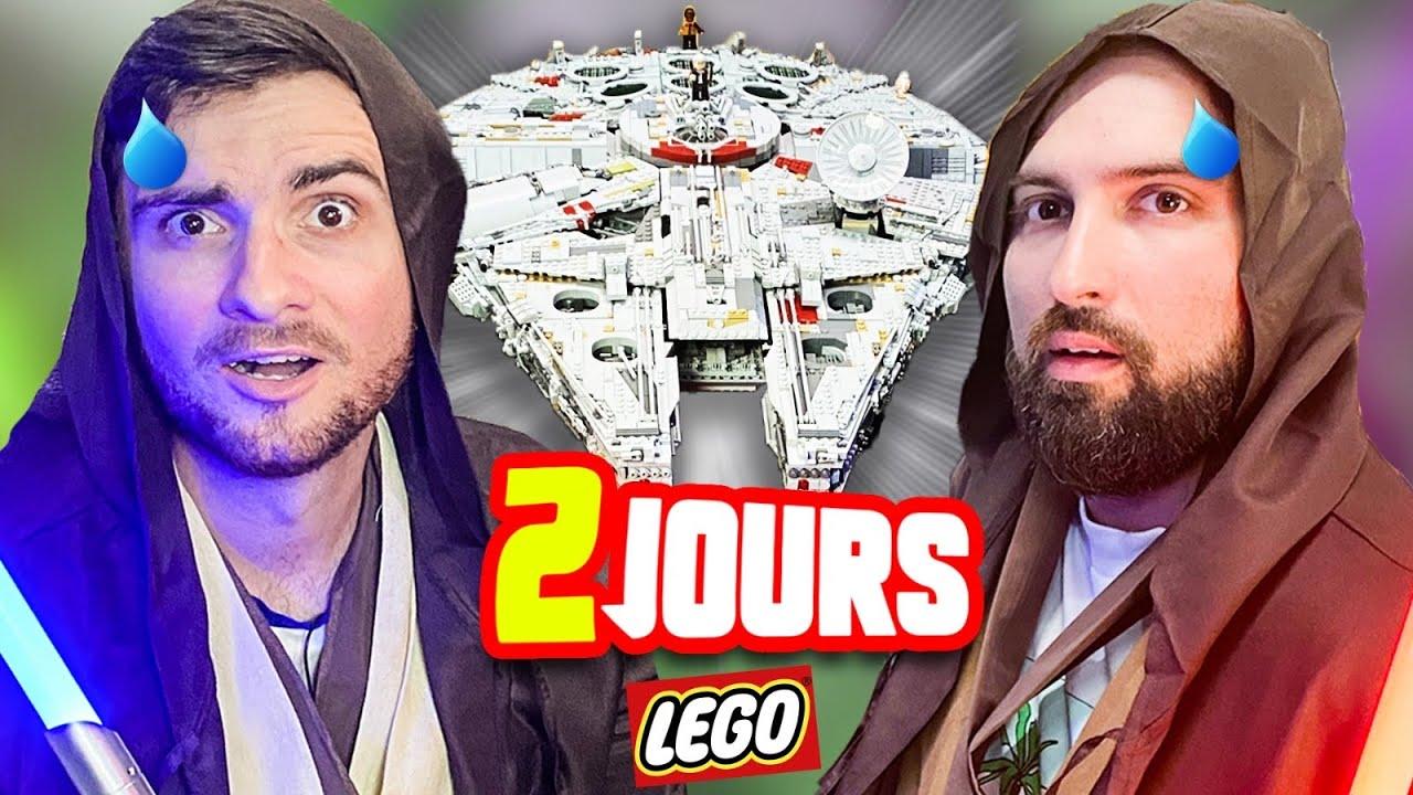 ON A CONSTRUIT CE LEGO STAR WARS JUSQU'À ÉPUISEMENT (on a pas tenu😭)