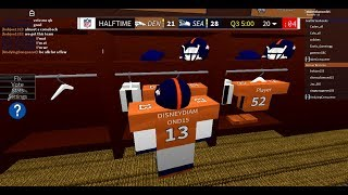 Roblox Legendary Football - New York Giants @ Chicago Bears - Part One