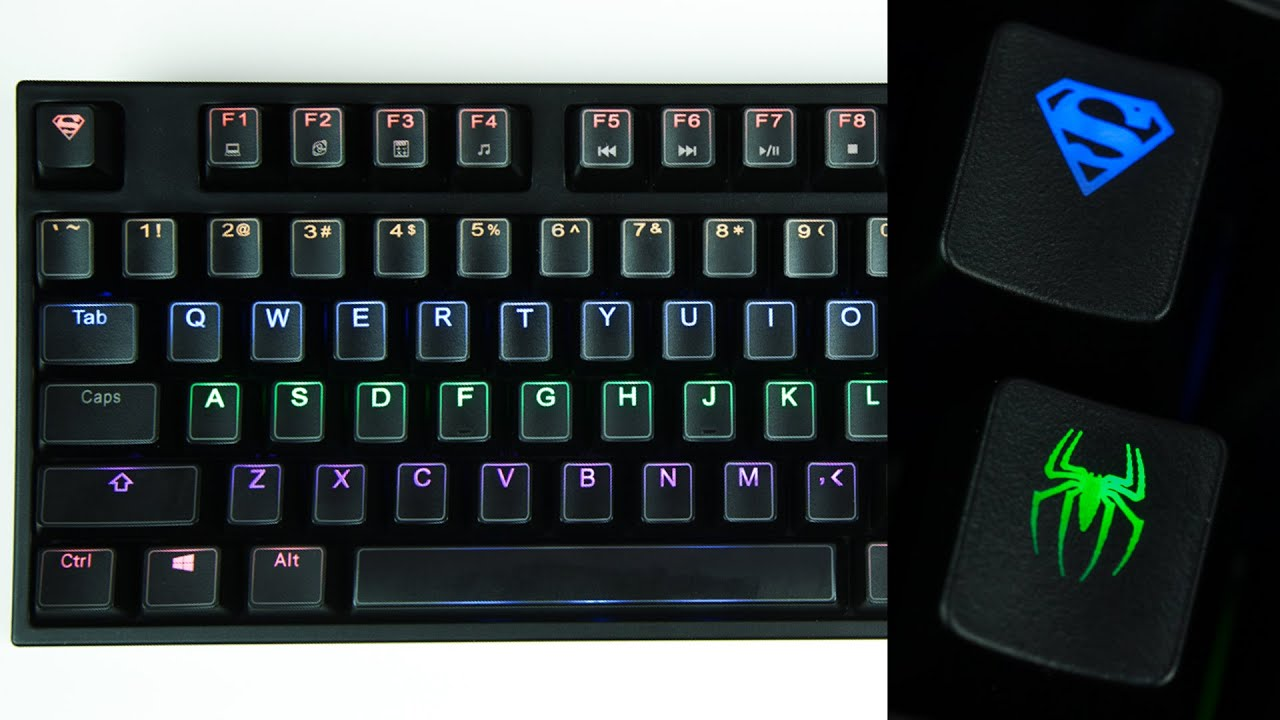 how to clean keyboard caps