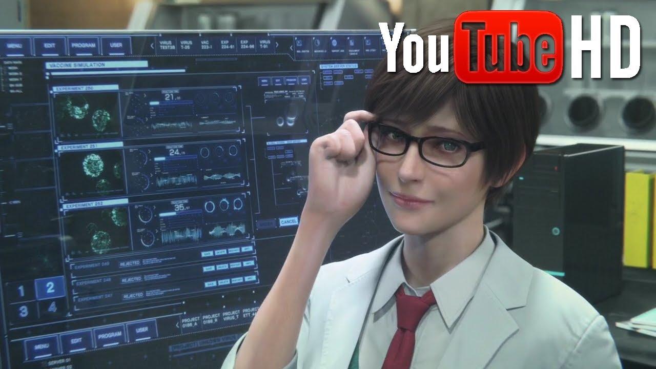 Wallpaper Zombie Hd Resident Evil Vendetta Professor Rebecca 720p Hd Youtube