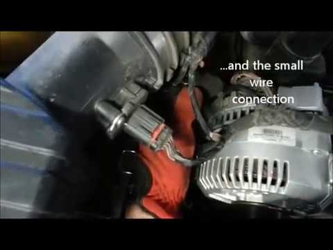 2005 Ford Explorer Alternator Removal