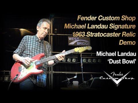 [Music Force] Fender CS Michael Landau Signature 63 Strat Demo (feat. Michael Landau) - 'Dust Bowl'